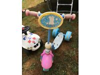 Peppa pig scooter FREE