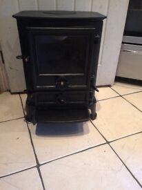 Stovax log burner very good condition