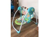 Baby swing £30 ono (£55 in asda )
