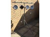 DJ / band lighting stand