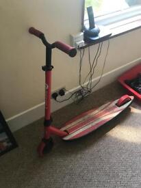 Longboard scooter