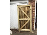 Garden gate/ hinges and latch