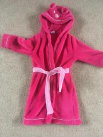 Girls dressing gown age 3-4