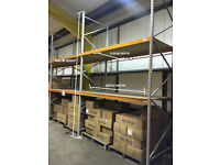 APEX 8 Bays Warehouse Shelving Heavy Duty Industrial Racking 4M height 1.1M DEEP