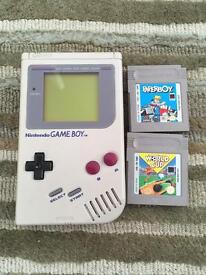 Original Nintendo gameboy DMG-01 1989