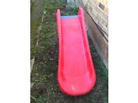Easy fold toddler slide