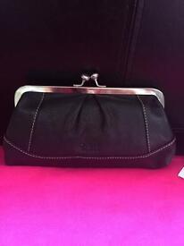 Brand New Leather Osprey Purse/Make Up Bag