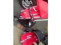 Maxi cosi car seat & buggy