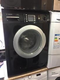 Bosch washing machine black Digital board 8kg Warranty Included Refurbished CHEAPEST IN THE MARKET