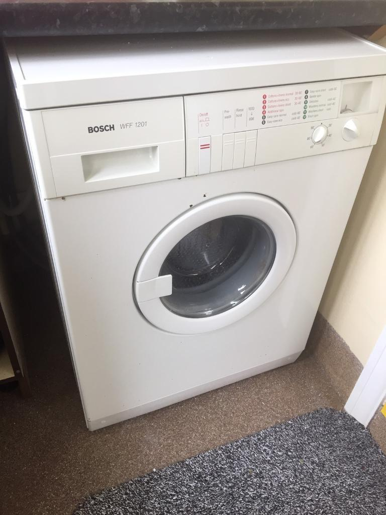 bosch washing machine wff 1201 in derriford devon gumtree. Black Bedroom Furniture Sets. Home Design Ideas