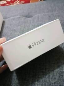 Iphone 6 box space grey 16gb