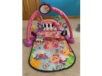 Fisher price baby playmat/gym