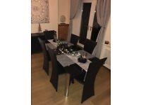 The Range Black Extending Dining Table