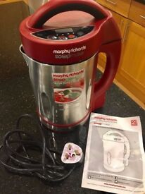 Morphy Richards Soup Maker 1.6 Litres Excellent Condition, like new!