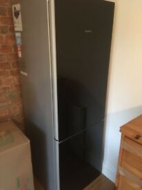 Siemens glass fronted fridge freezer