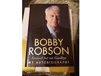 Bobby Robson book