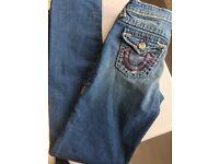 Women/Girls True Religion Jeans Size - 14 - W28 L28