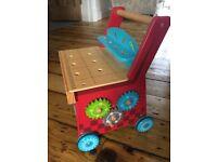 ELC wooden toddler walker good condition