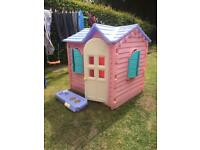 Little Tikes/Tykes Pink Country Cottage Playhouse,Roundhay