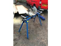 Cordless chopsaw and stand