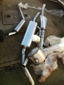 BENTLEY T1 . ROLLS ROYCE SHADOW 1 . STAINLESS STEEL EXHAUST NEW NEVER FITTED