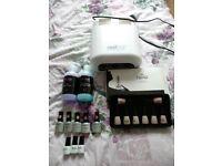 Nails Lamp + Kit