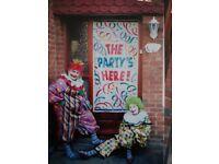 Clowning around childrens entertainer