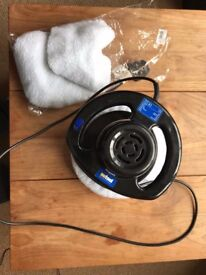 Electric Polisher with 3 new bonnets