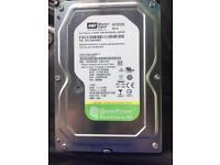Western digital 1tb hard drive