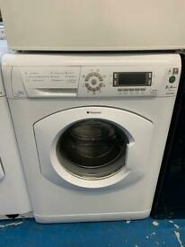 Hotpoint white good looking 8kg washing machine