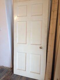Georgian/Victorian Six Panel Internal Door