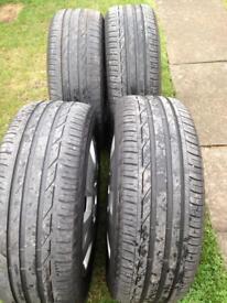 Vauxhall steel wheel - 2 remaining
