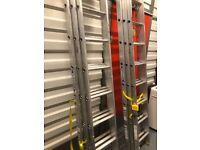 2 werner triple ladders like new