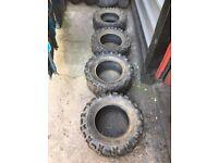 quad tyres maxxis sur trax mud/dirt sand 2x 25x8.00-12 2x 25x10.00-12
