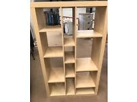 Pine bookcase/shelves