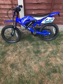 Childs Scrambler Bike - Like New Excellent Condition