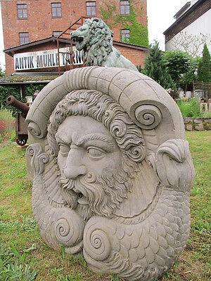 Wasserspeier / Brunnenfigur / Maskeron / Skulptur / Brunnen / Gartenfigur /Maske