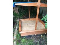 sandpit + sand for sale