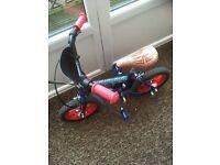 Kids Spider-Man Bike
