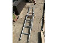 Sliding loft ladder