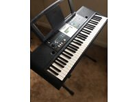 Yamaha digital keyboard PSR-E223 with stand