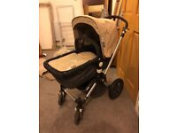 Bugaboo chameleon generation 2 pram. Very good condition only used with one child. Sand coloured.