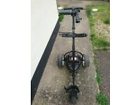 Motocaddy S1 electric trolley in good condition with a 36 hole lead acid battery