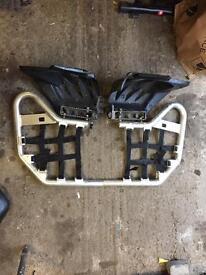 Yamaha Raptor YFZ 700R Nerf Bars
