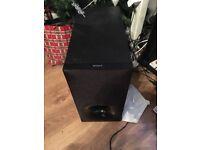 Sony sound bar & wireless sub perfect condition Model no sa-ct780
