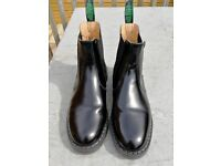 Solovair chelsea boots handmade in England size 9