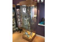 Shop display cabinet