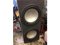 2x infinity subs high power