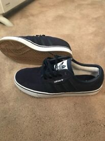 Adidas trainers nearly new. Size 7
