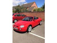 2001 MGF 1.8VVC Immaculate Red Convertible 32k 12MOT Absolute Mint Condition